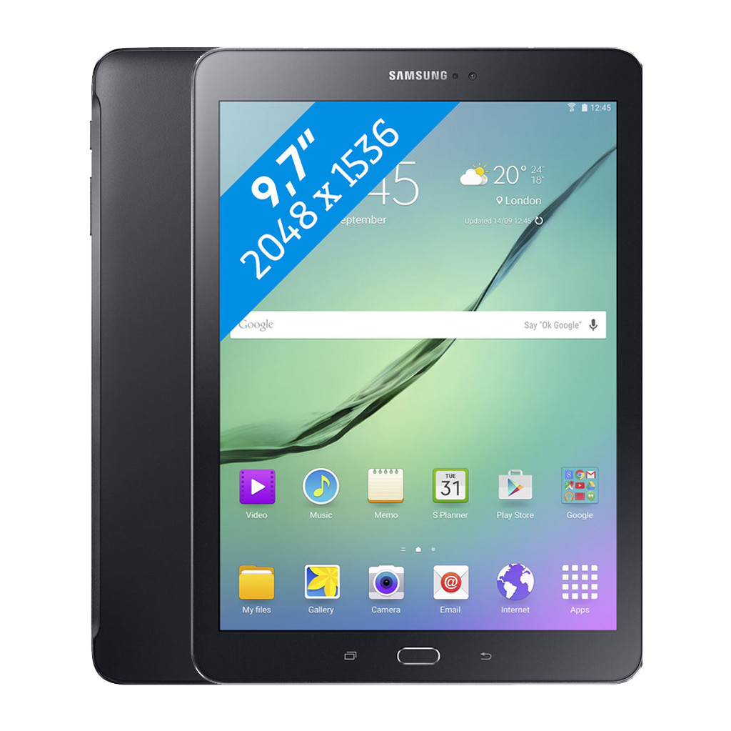 Samsung Galaxy Tab S2 9,7 inch 32GB Zwart 2016 in Dinther