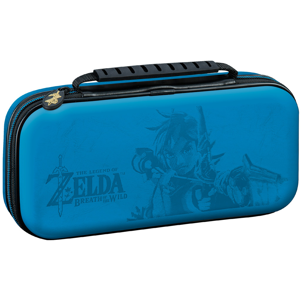Bigben Nintendo Switch Travel Case Zelda Blauw in IJzeren