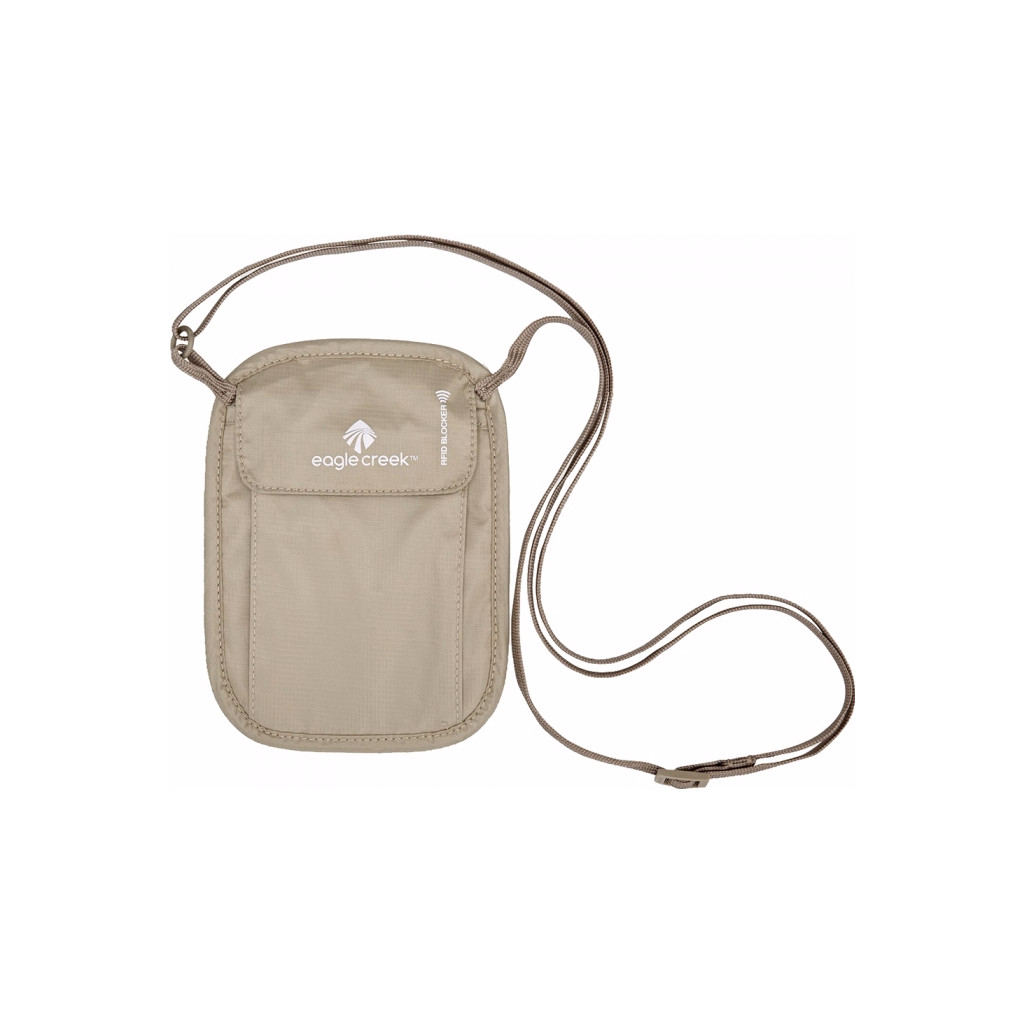 Eagle Creek RFID Blocker Neck Wallet Tan kopen
