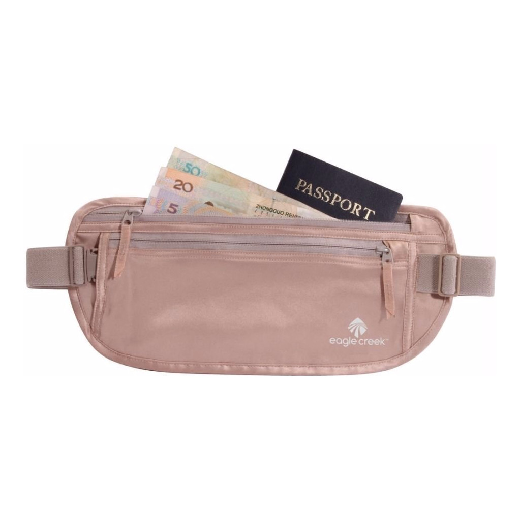 Eagle Creek Silk Undercover Money Belt Rose in Heindonk