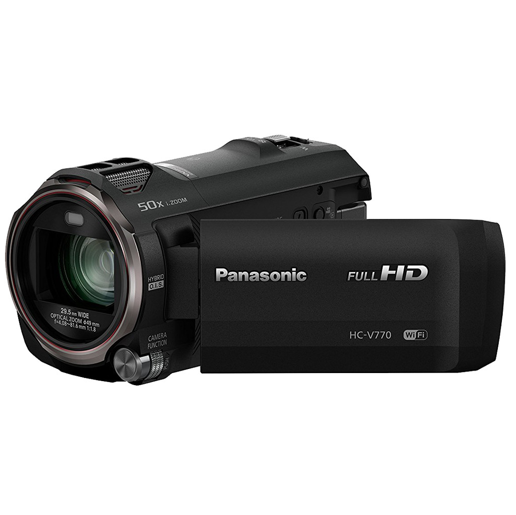 Panasonic HC-V770 in Schans