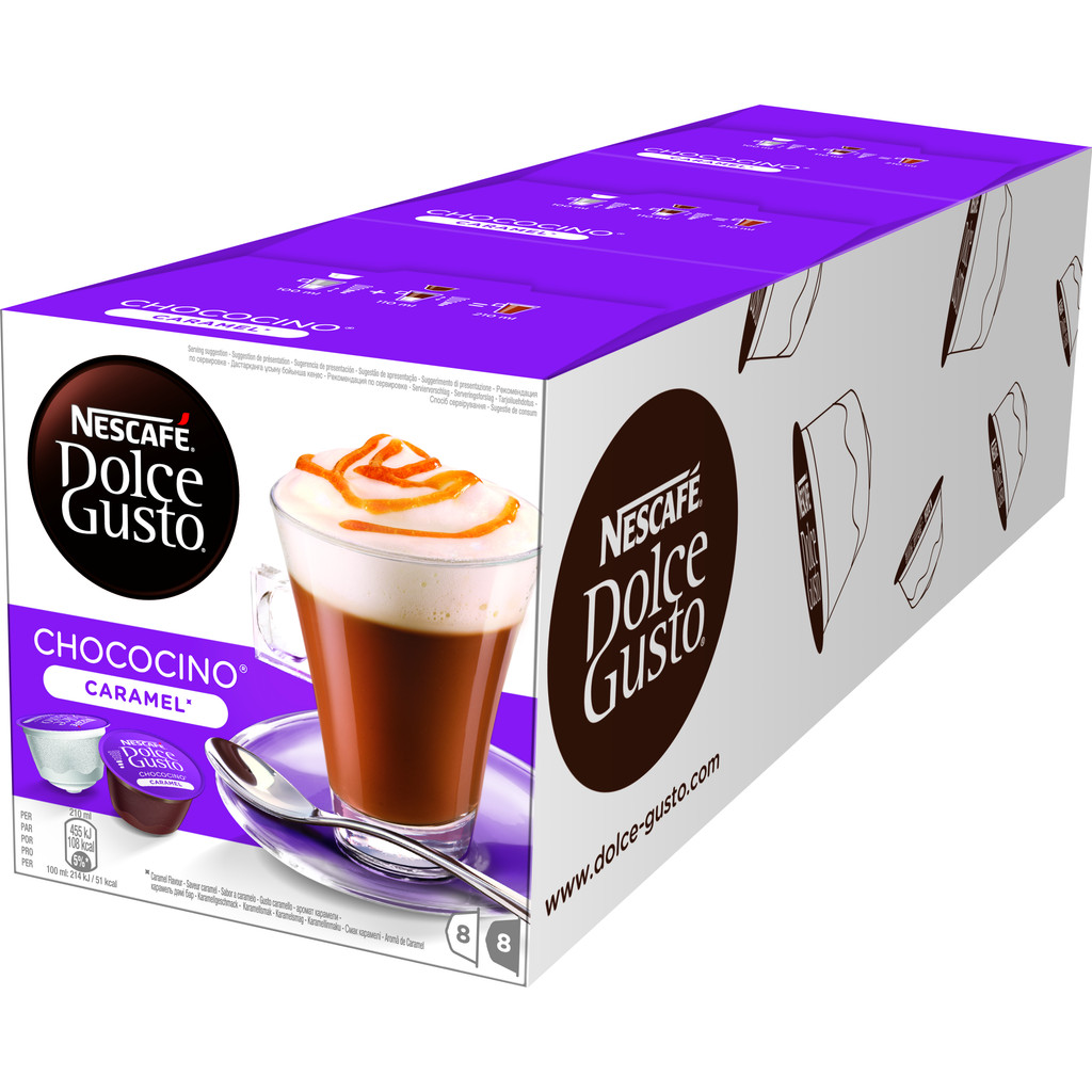 Dolce Gusto Choco Caramel 3 pack kopen