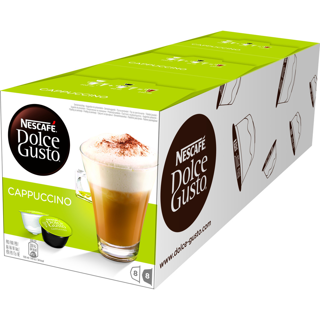 Dolce Gusto Cappuccino 3 pack kopen