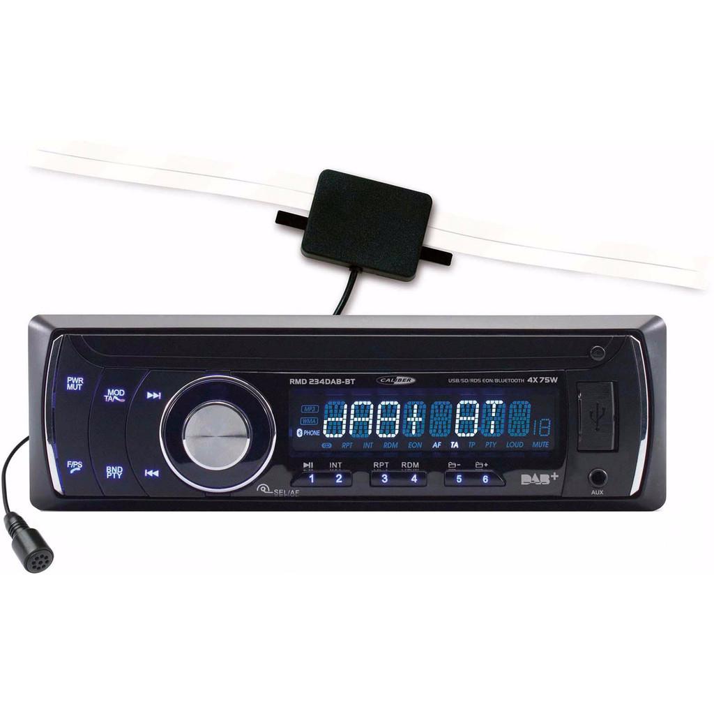 Caliber Audio Technology Enkel Din autoradio 4 x 75 W USB, SD, Jackplug, Bluetooth