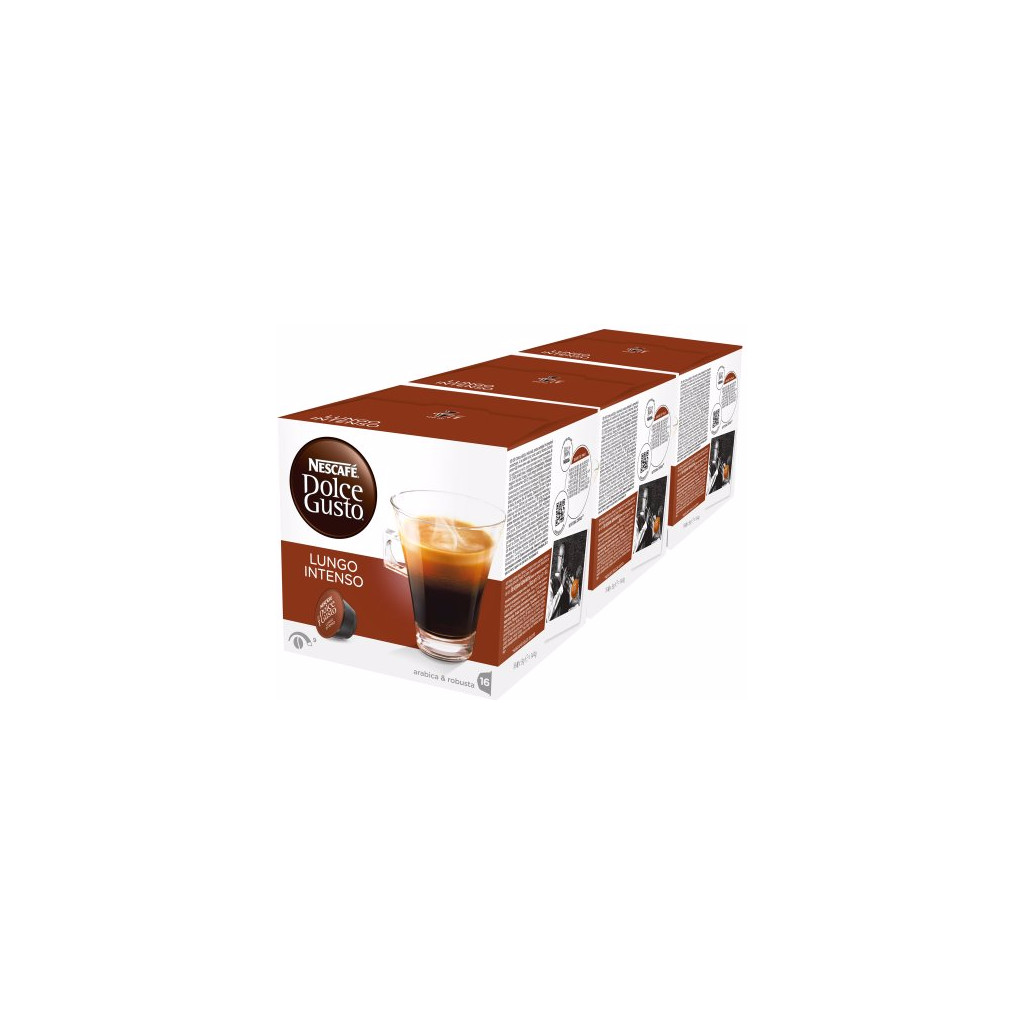 Dolce Gusto Lungo Intenso 3 pack in Laagstraat