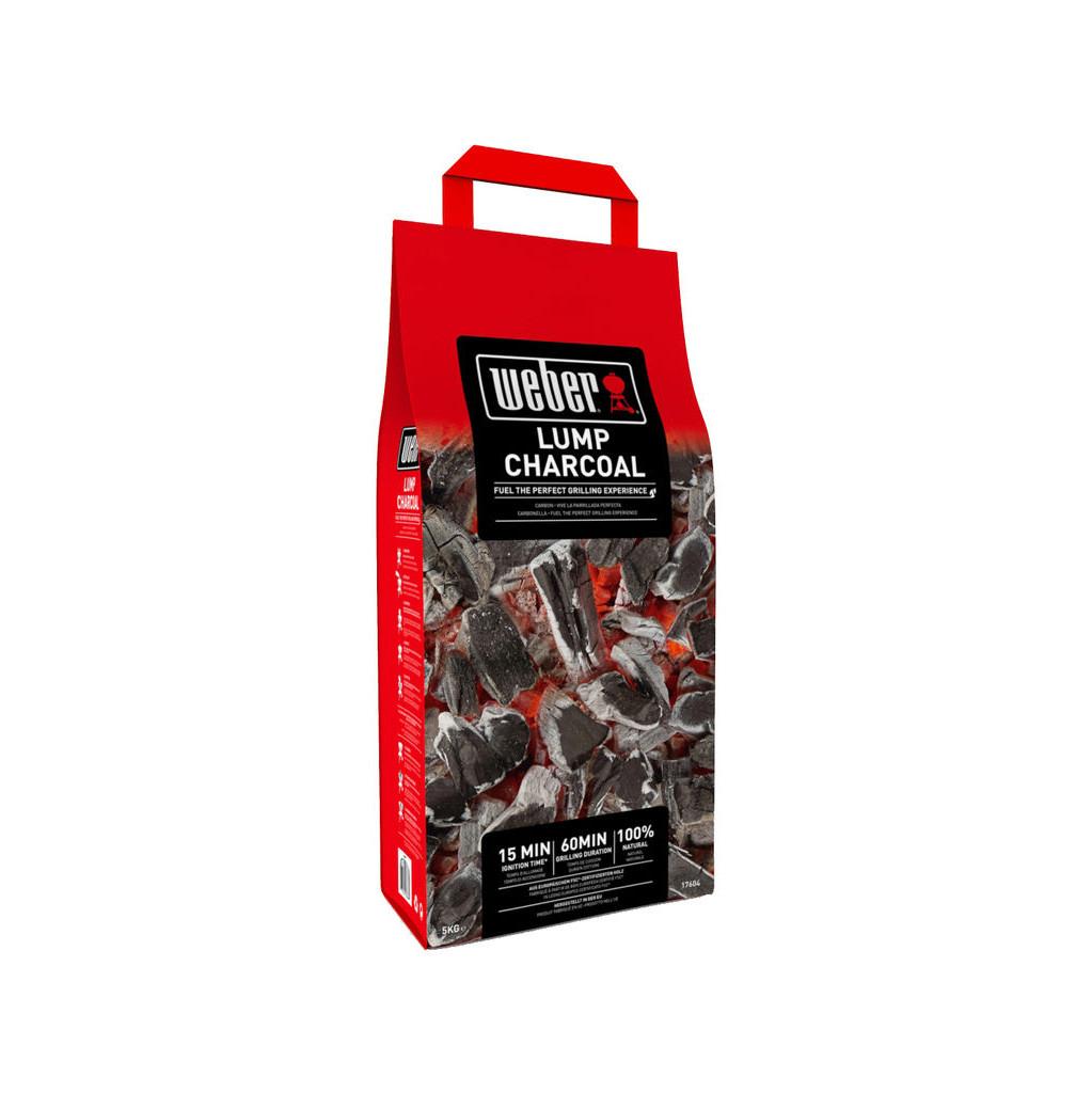 Weber Houtskool 5 kg in Ruiten