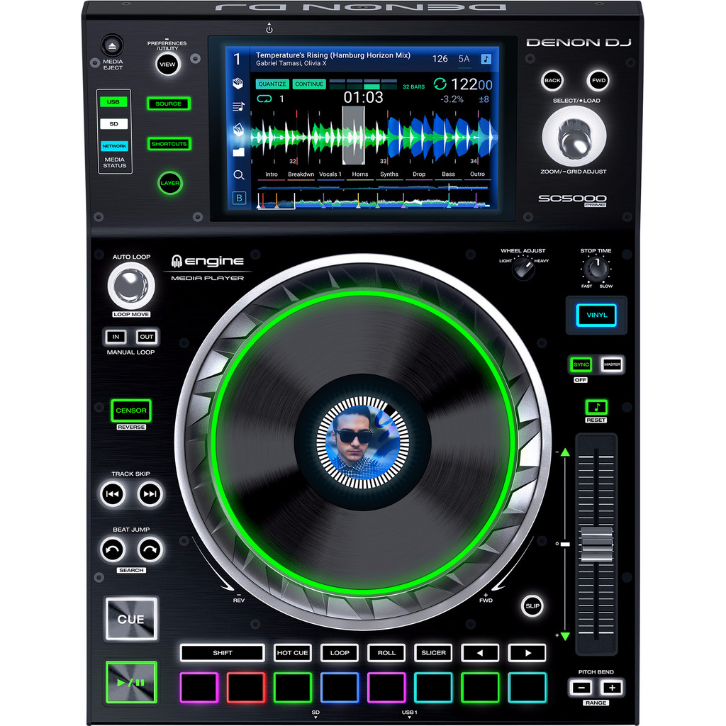 Denon DJ SC5000 Prime in Kortezwaag / Koartsweagen