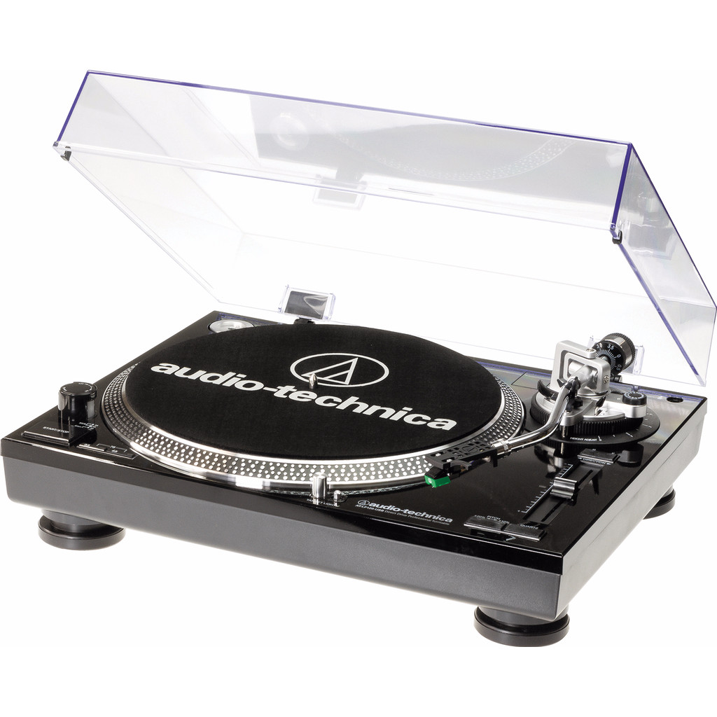 Audio-Technica AT-LP120USBHCBK Zwart in Morra / Moarre