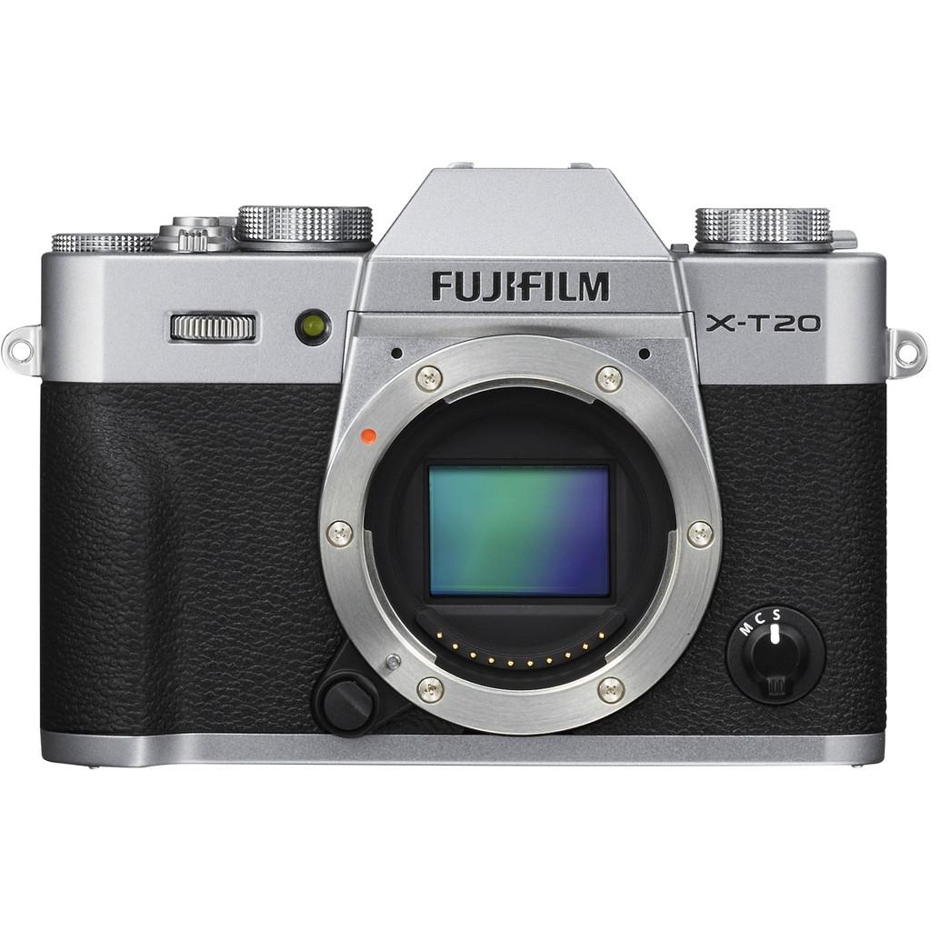 Fujifilm X-T20 Body Zilver kopen