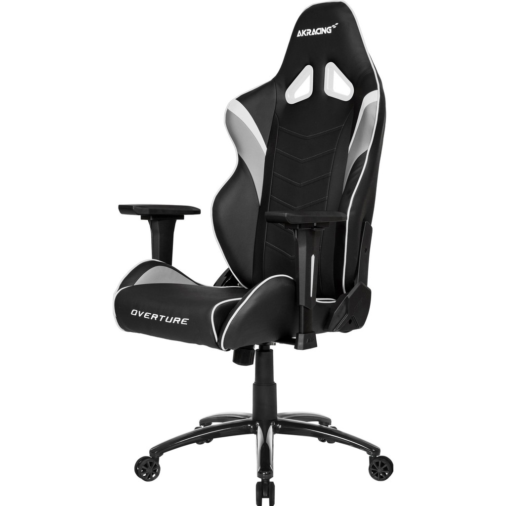 AK Racing Overture Gaming Chair Wit in l'Air Pur