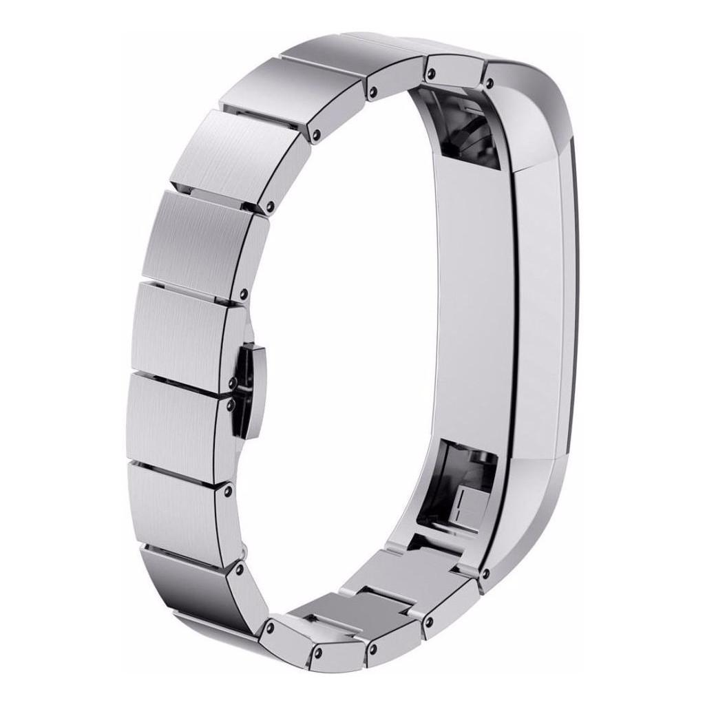 Just in Case RVS Polsband Fitbit Alta Zilver kopen