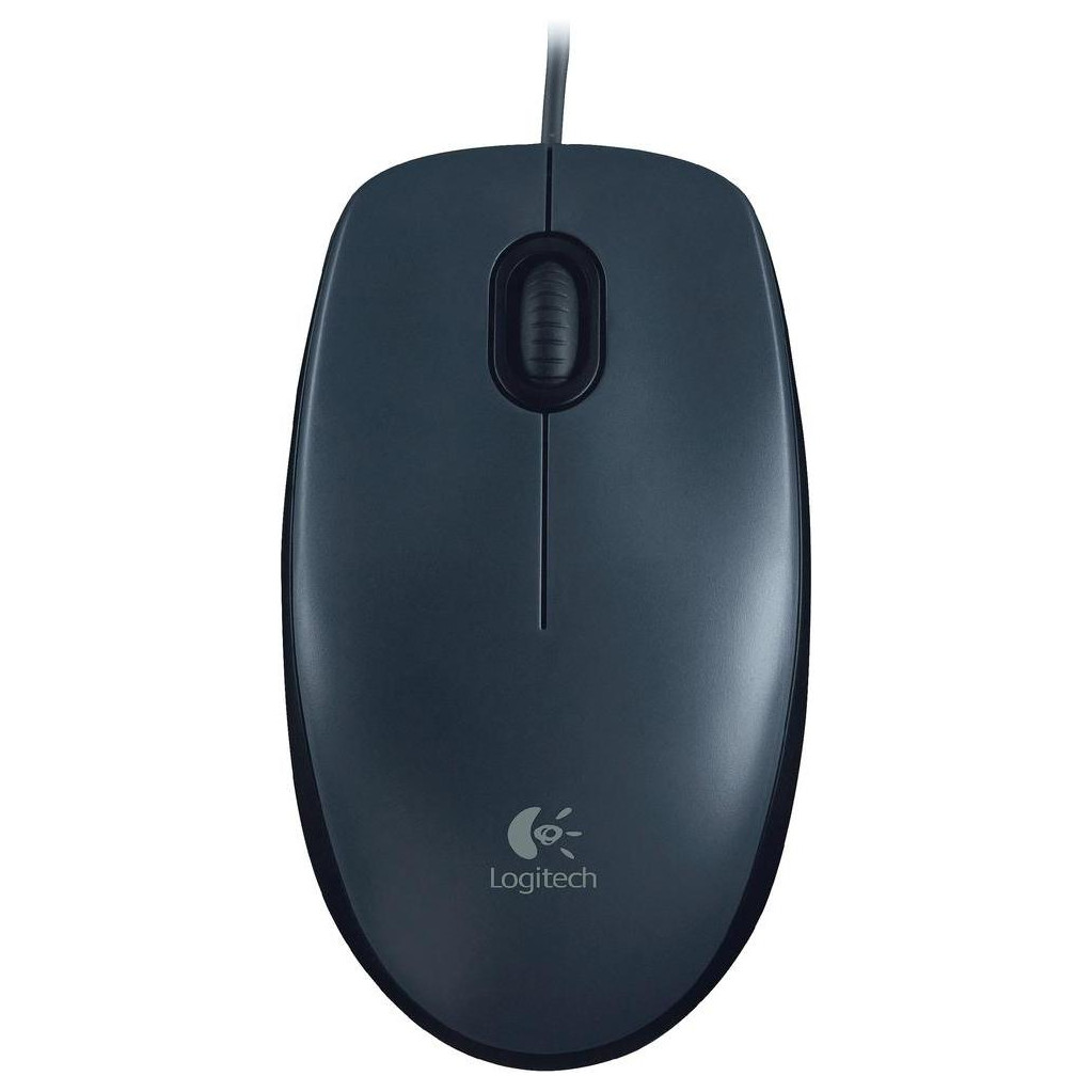 Logitech Mouse M90 in Graauw