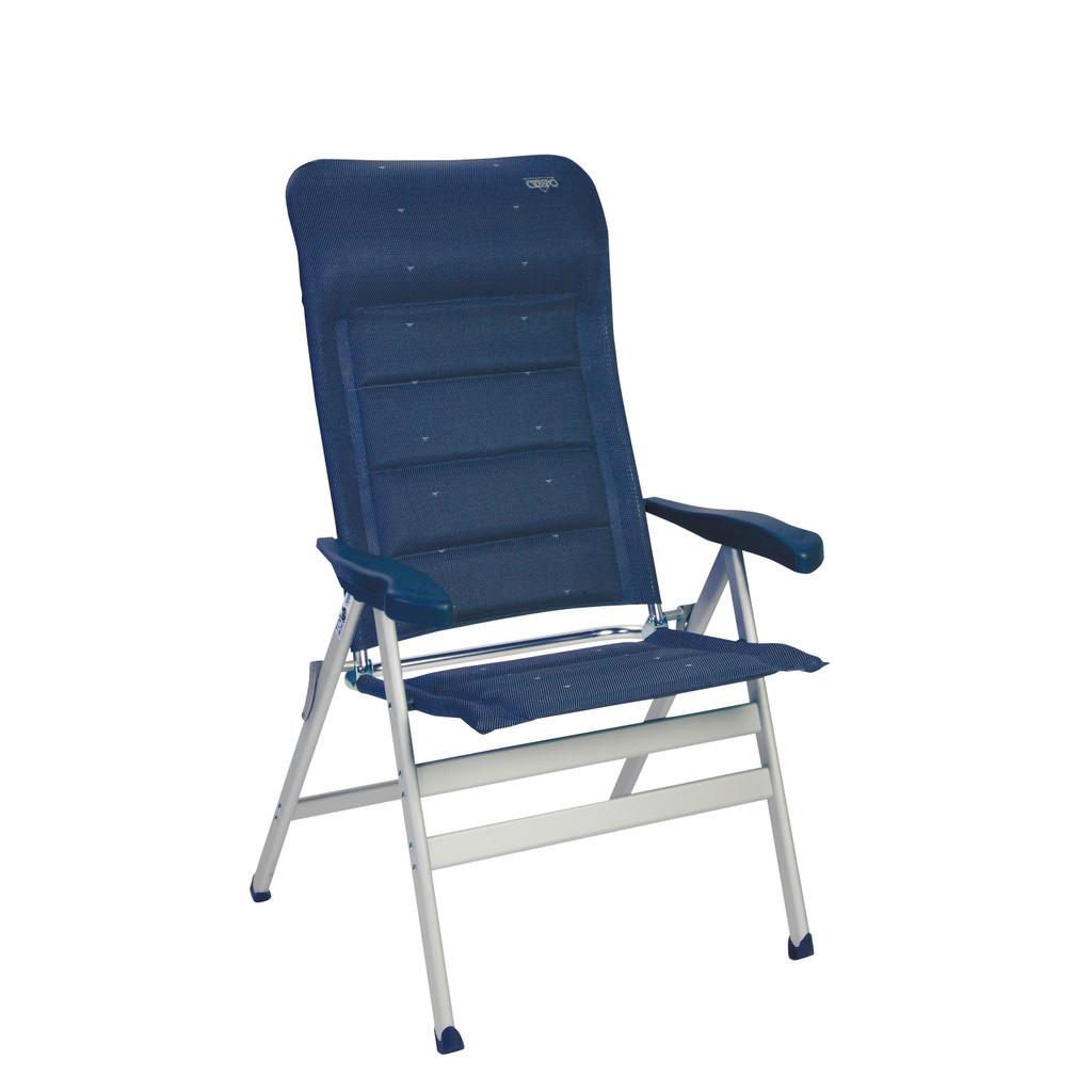 Crespo Standenstoel AL-238 XL Deluxe Donker Blauw in Withuis