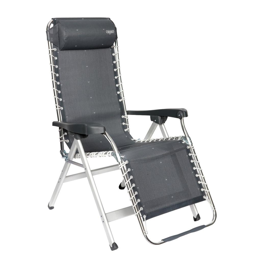 Crespo Relaxstoel AL-232 Donker Grijs in Midwolda