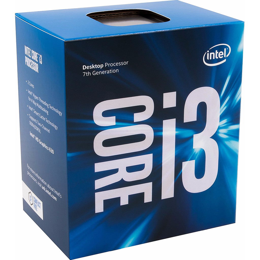 Intel Core i3 7100 in Zonnemaire