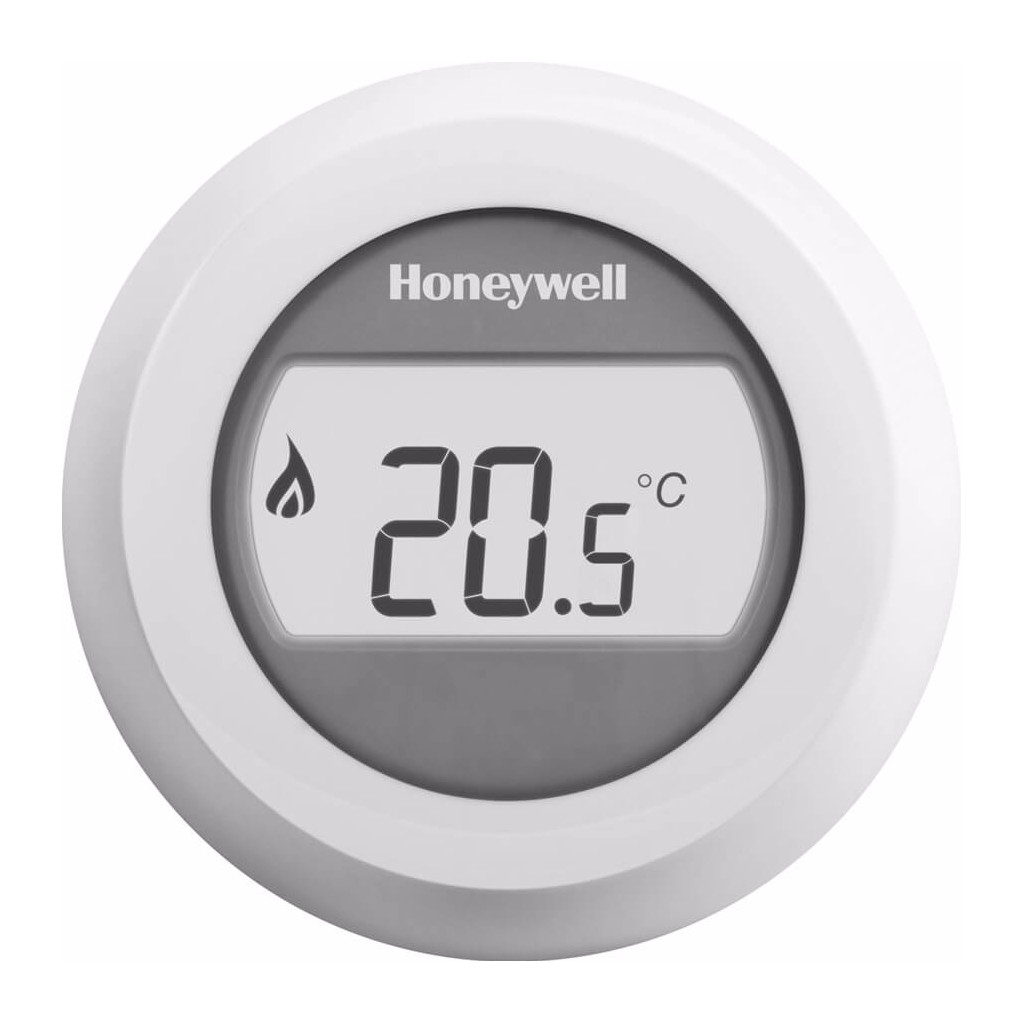 Honeywell Round kamerthermostaat 24V Round On-Off wit