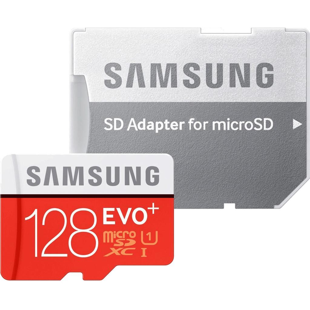 Samsung microSDXC Evo+ 128 GB Class 10 + SD Adapter kopen