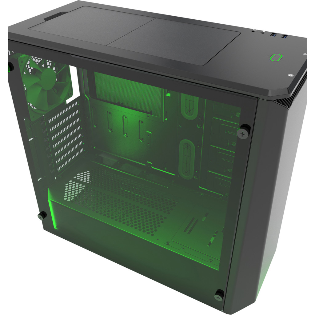 PHANTEKS Eclipse P400S Tempered Glass Zwart kopen