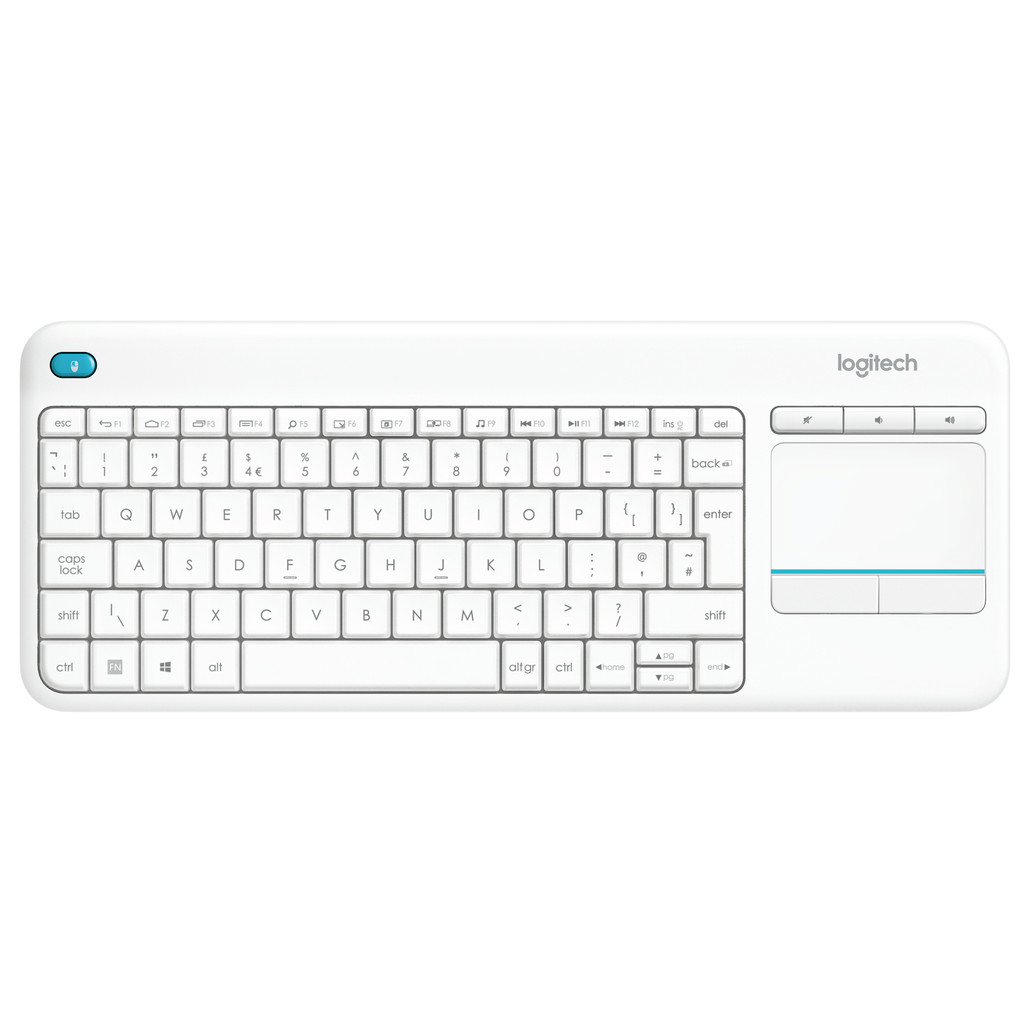 Logitech K400 Plus Wireless Touch Wit QWERTY kopen