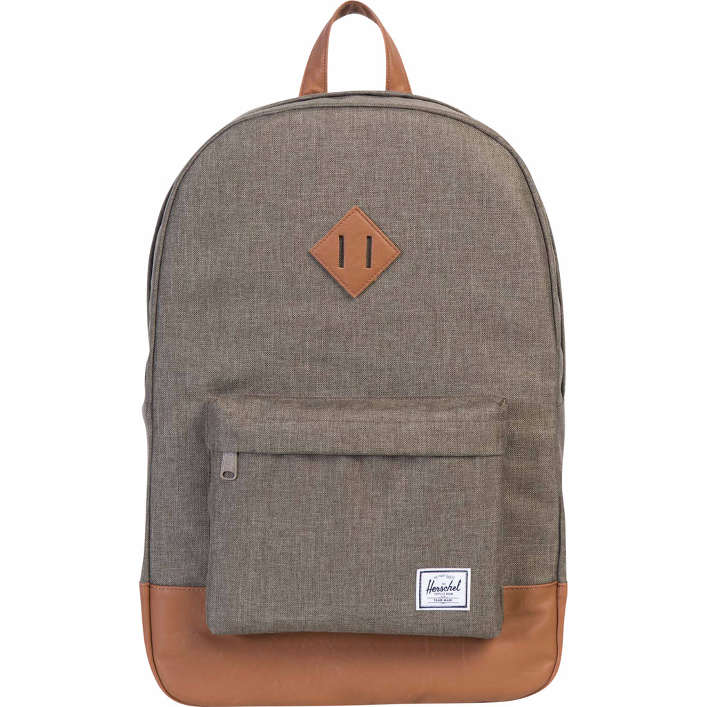 Herschel Supply Co. Heritage Rugzak canteen crosshatch-tan