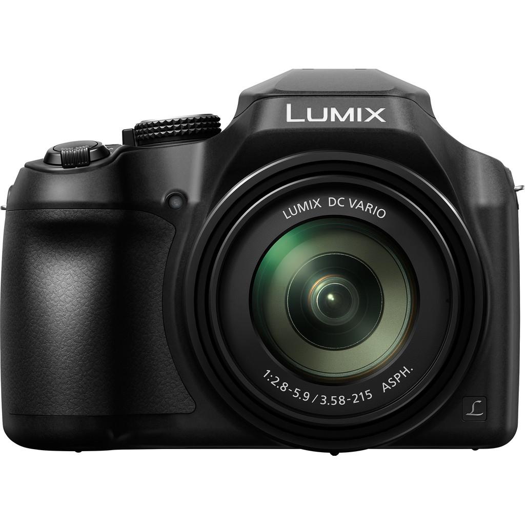 Panasonic Lumix DC-FZ82 compact camera zwart