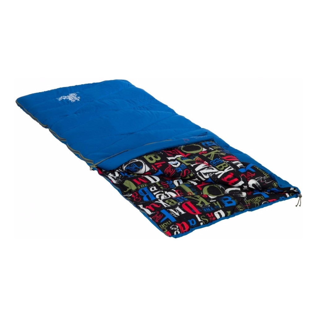 Nomad Sleepyhero Junior Classic Blue/Print in Graszode