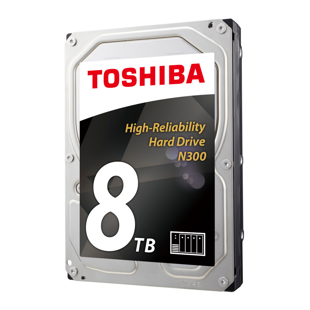 Toshiba N300 8TB 8000GB SATA III