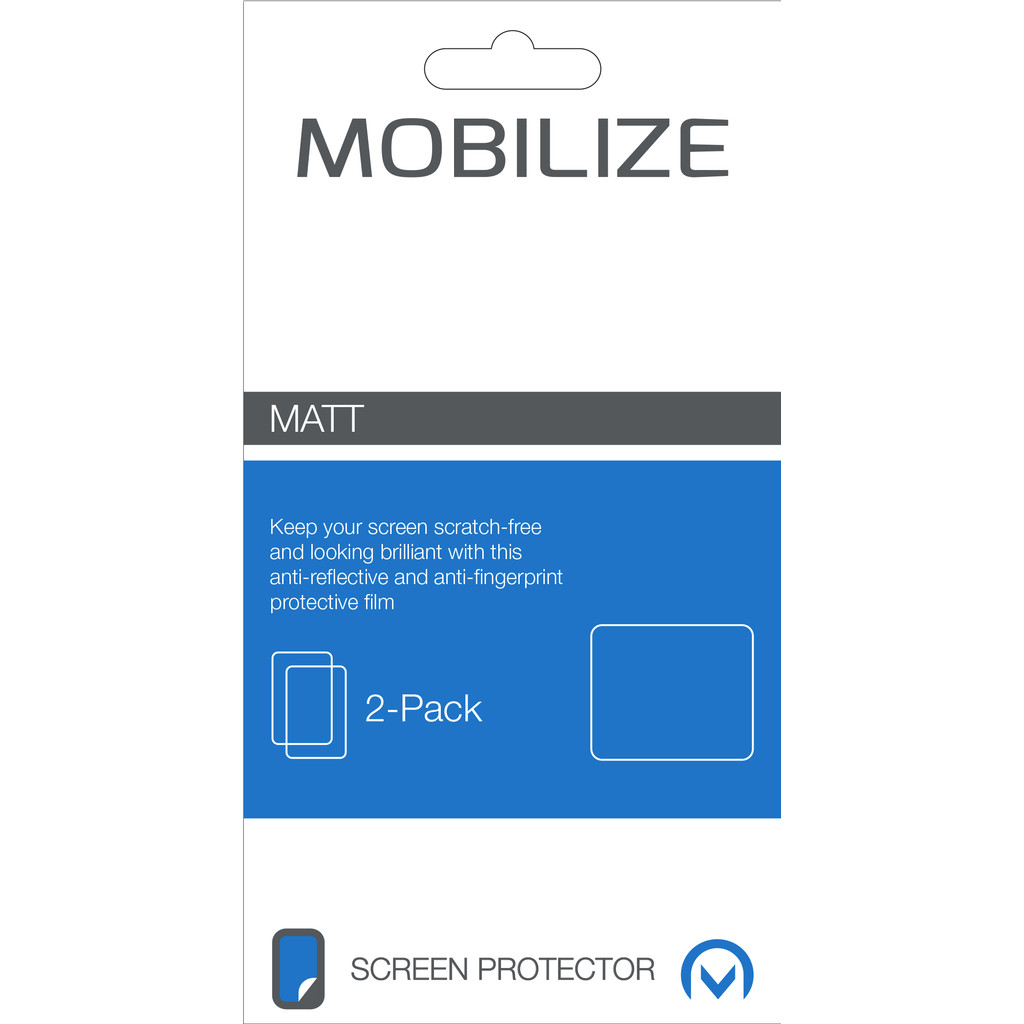 Mobilize Matt 2-pack Screen Protector Kobo Aura H2O in Gijzegem