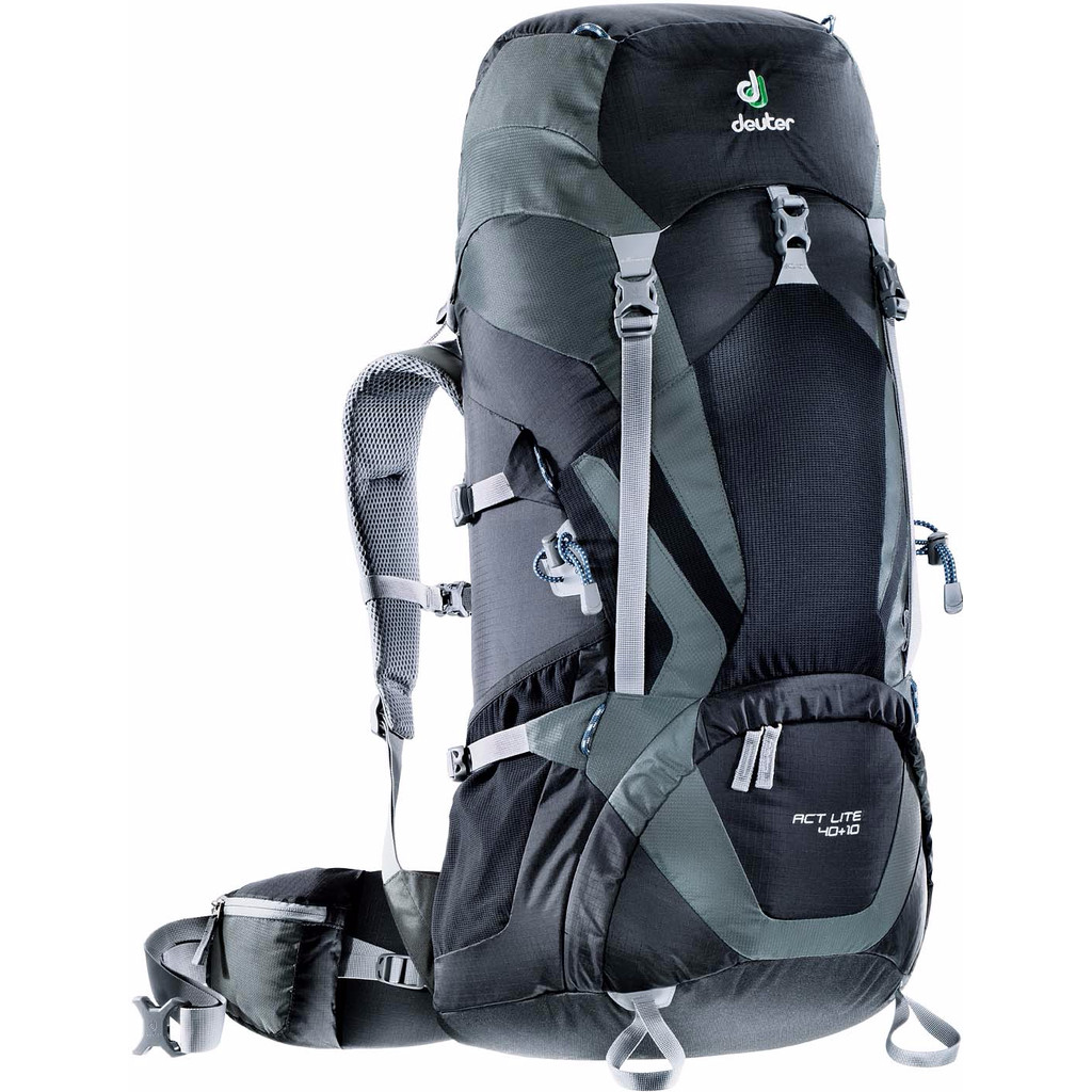 Deuter ACT Lite 40 + 10 Black/Granite kopen