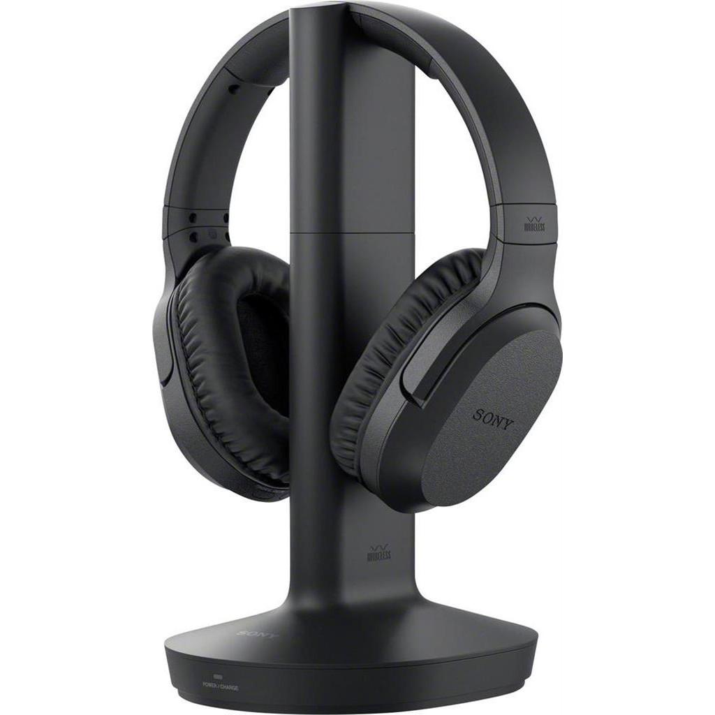 Sony Radiografisch TV Koptelefoon Over Ear Volumeregeling, Ruisonderdrukking Zwart