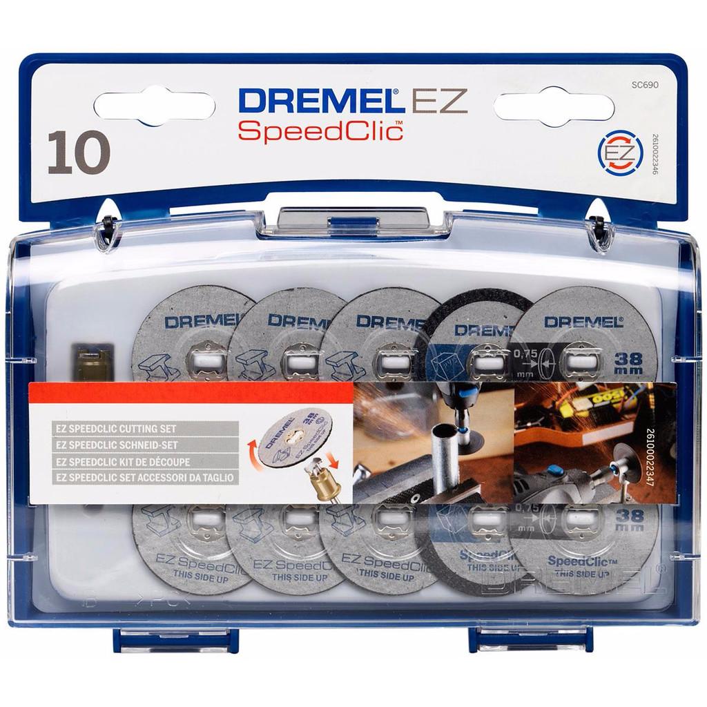 Dremel EZ SpeedClic snij-accessoireset (SC690) in De Hem