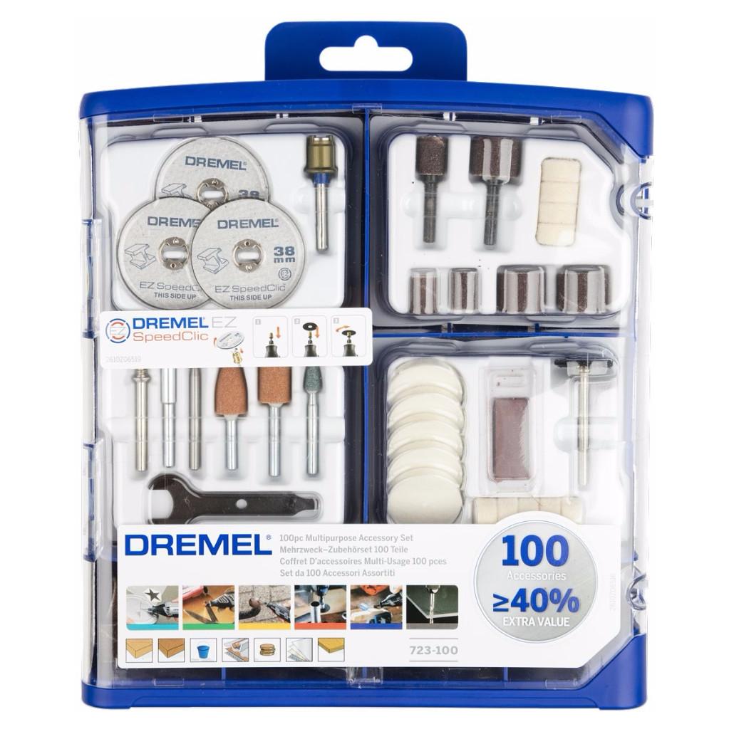 Dremel MAS 100-delige accessoireset in Treignes