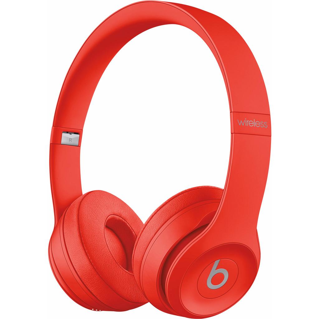 Beats by Dr. Dre Beats Solo3 Wireless Hoofdband Stereofonisch Bekabeld-Bluetooth Rood mobielehoofd