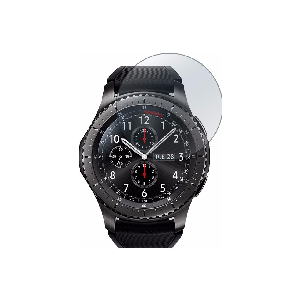 Just in Case Samsung Gear S3 Screenprotector Glas in Zoggel