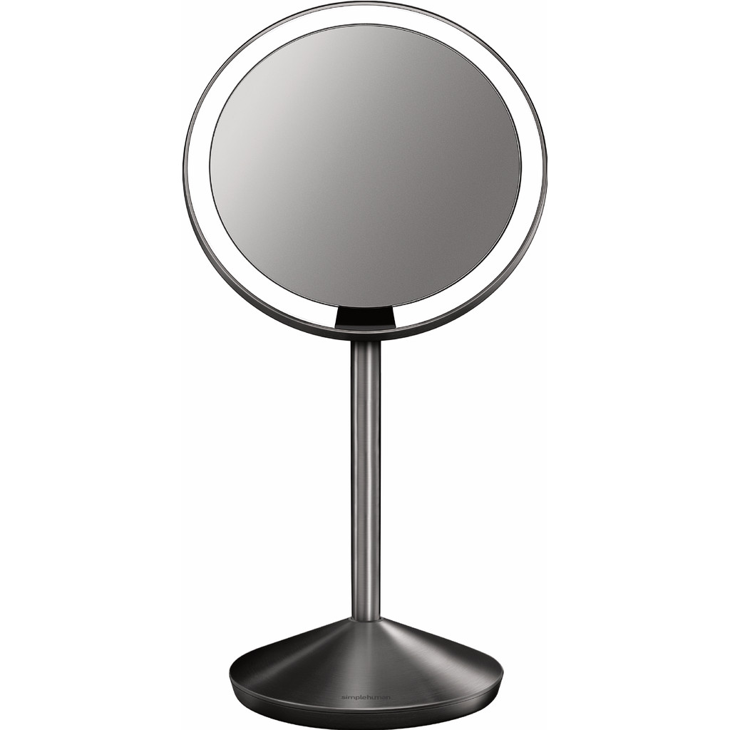 Simplehuman Sensor Spiegel Compact Zilver in Looieind