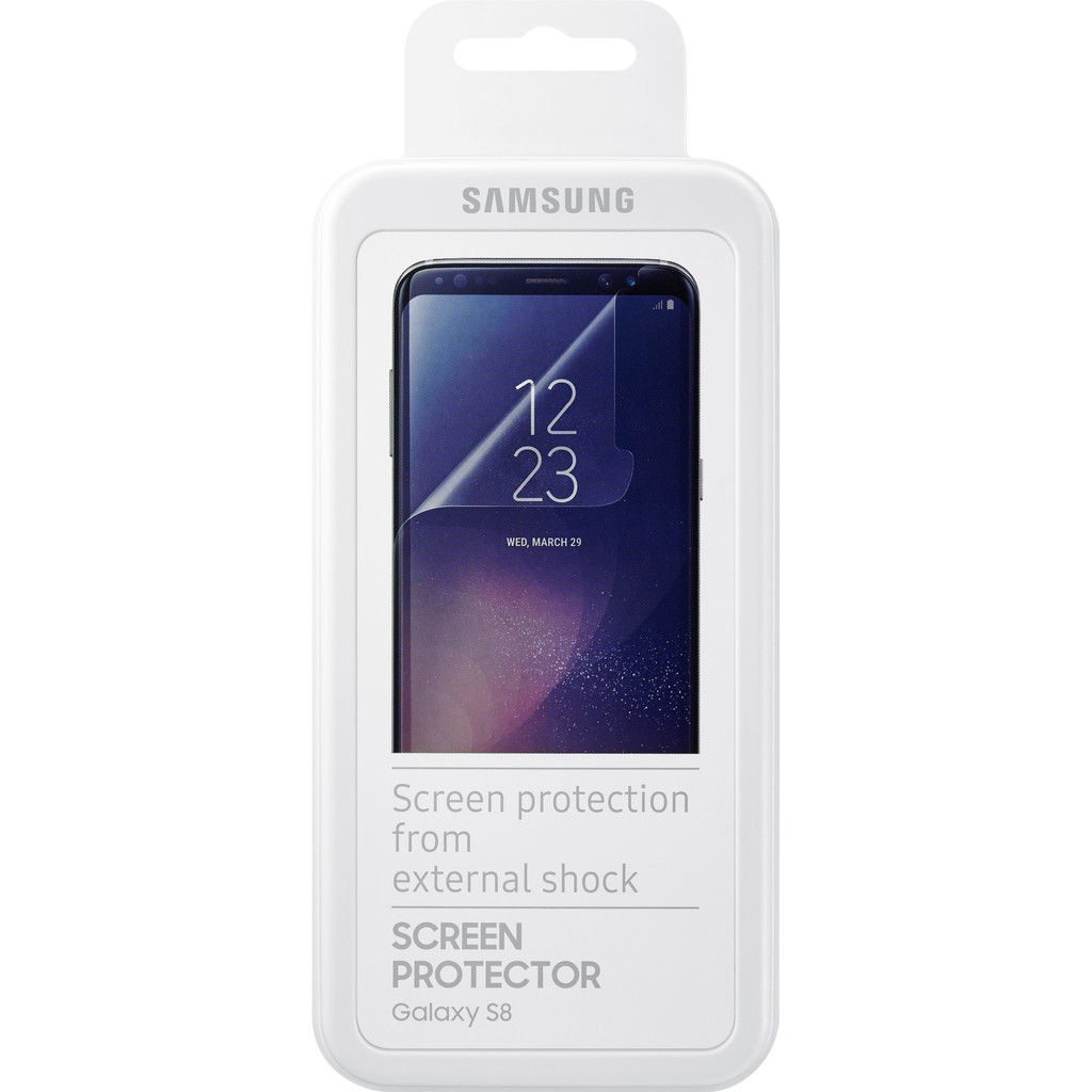 Samsung Galaxy S8 Plastic Screenprotector in Wercheren