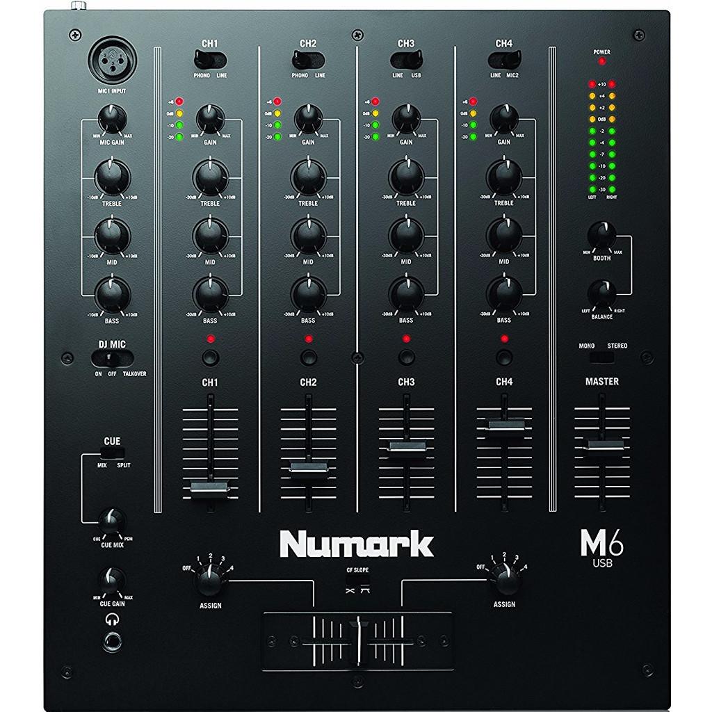 Numark M6 USB Zwart in Nieuwpoort