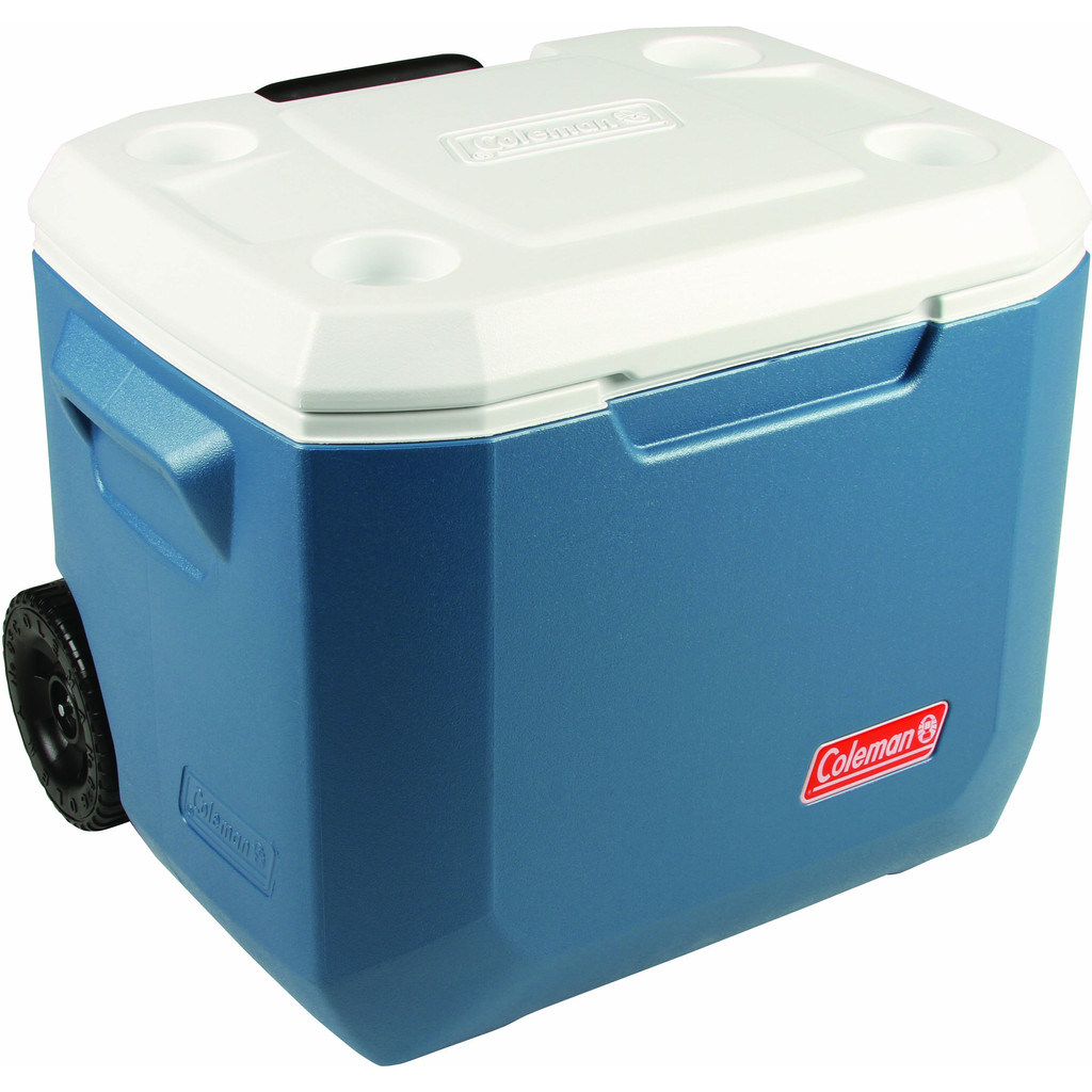 Coleman 50 Qt Xtreme Wheeled Cooler Blue - Passief in Oudorp
