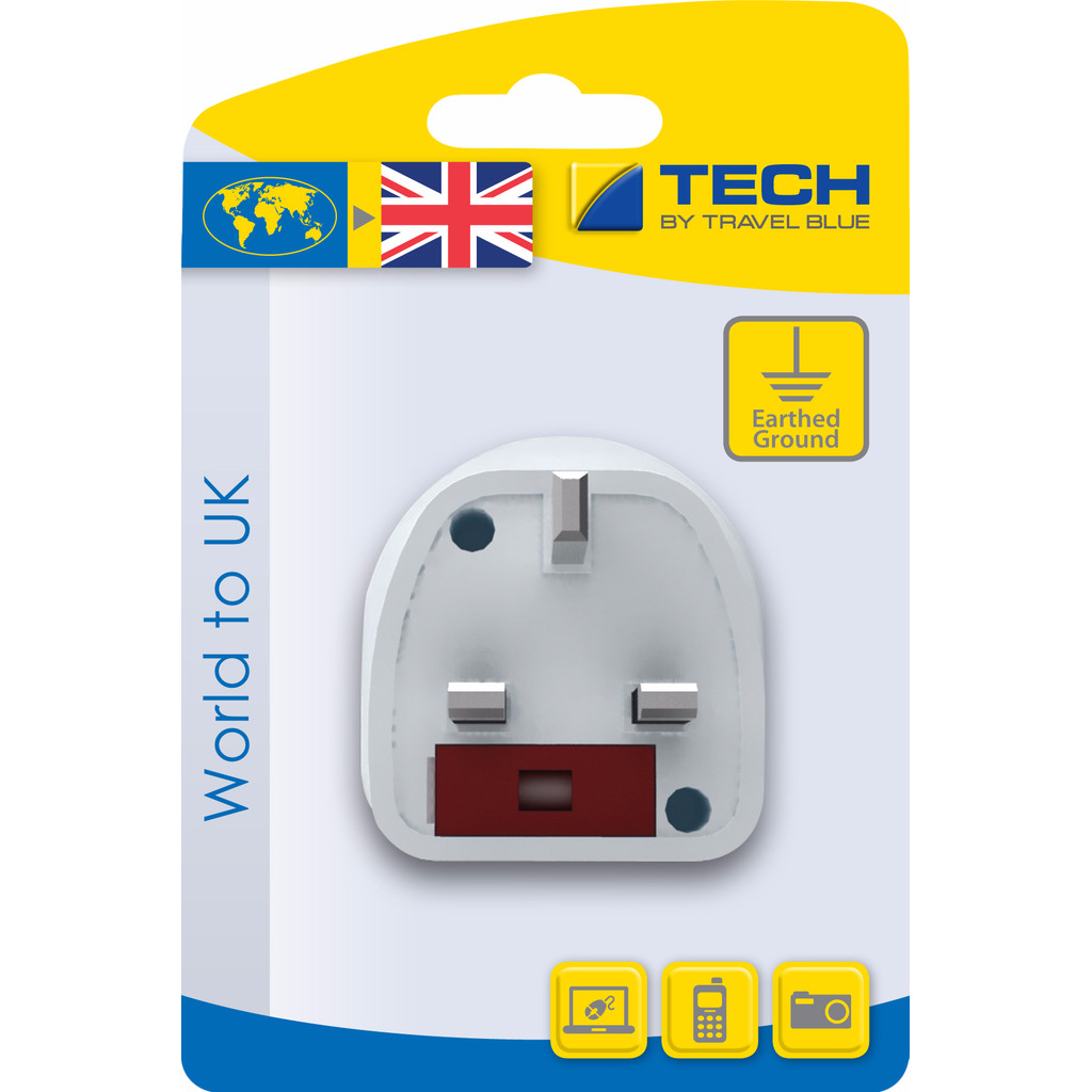 Travel Blue Wereld Adapter - UK kopen