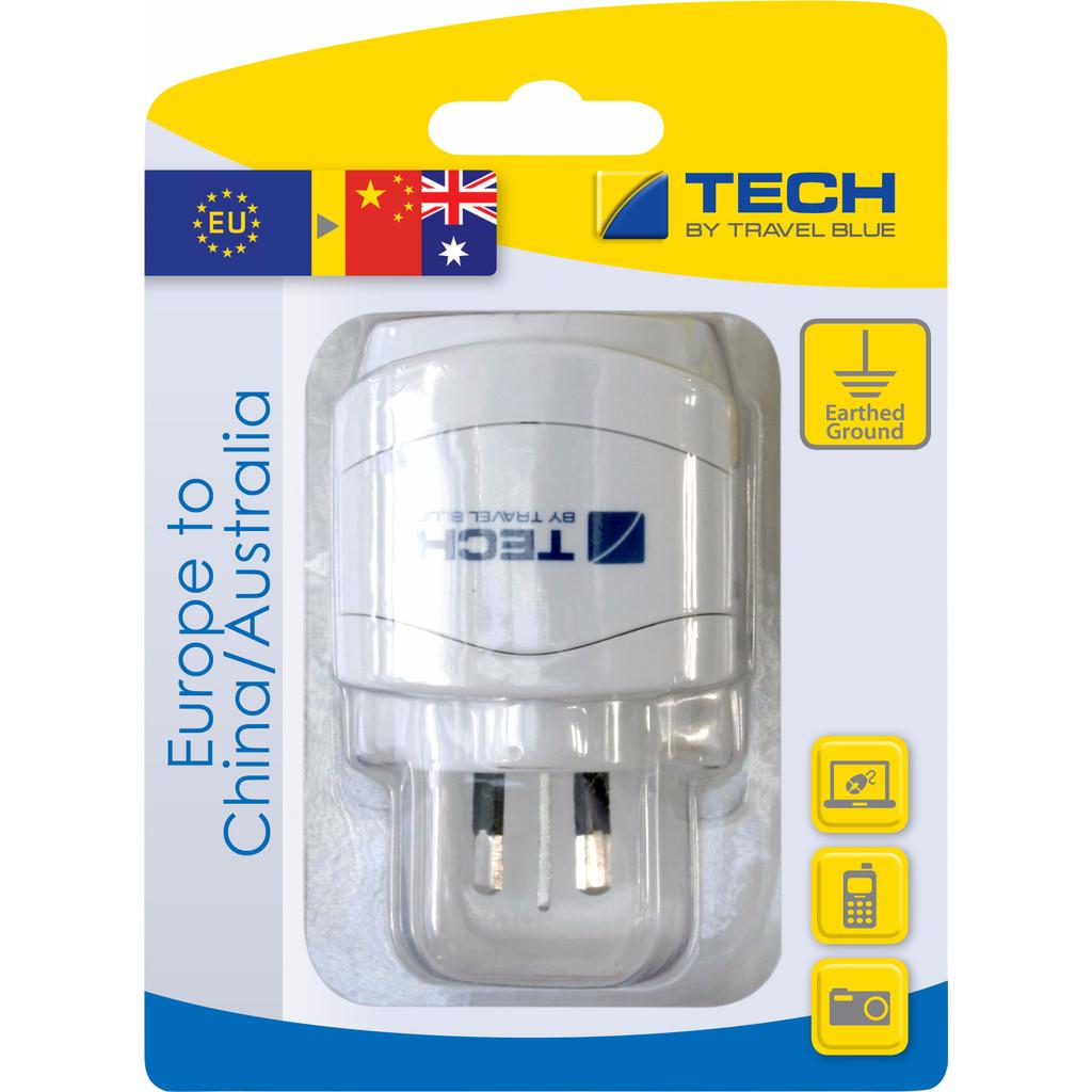 Travel Blue Europa Adapter - China / Australia in Tjoene