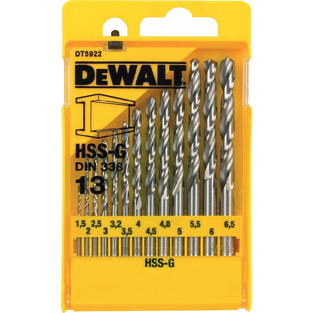 DeWalt 13-delige Metaalborenset HSS-G kopen