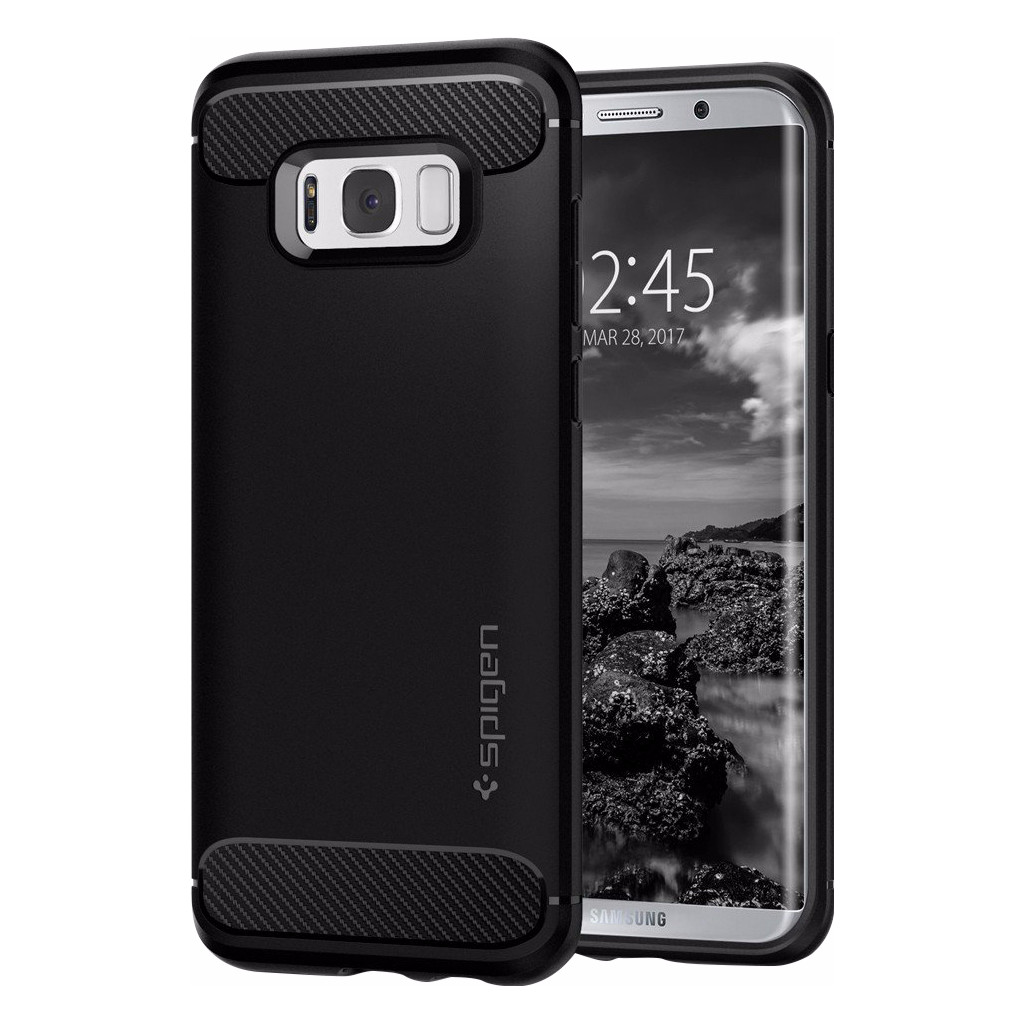 Spigen Rugged Armor Samsung Galaxy S8 Back Cover Zwart in Leiden