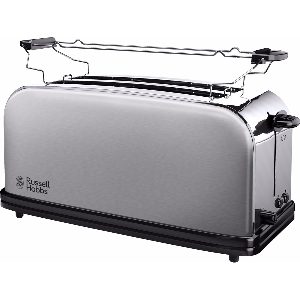 Russell Hobbs Oxford 4SL Long Slot Broodrooster 23610-56 in Klaarstraat