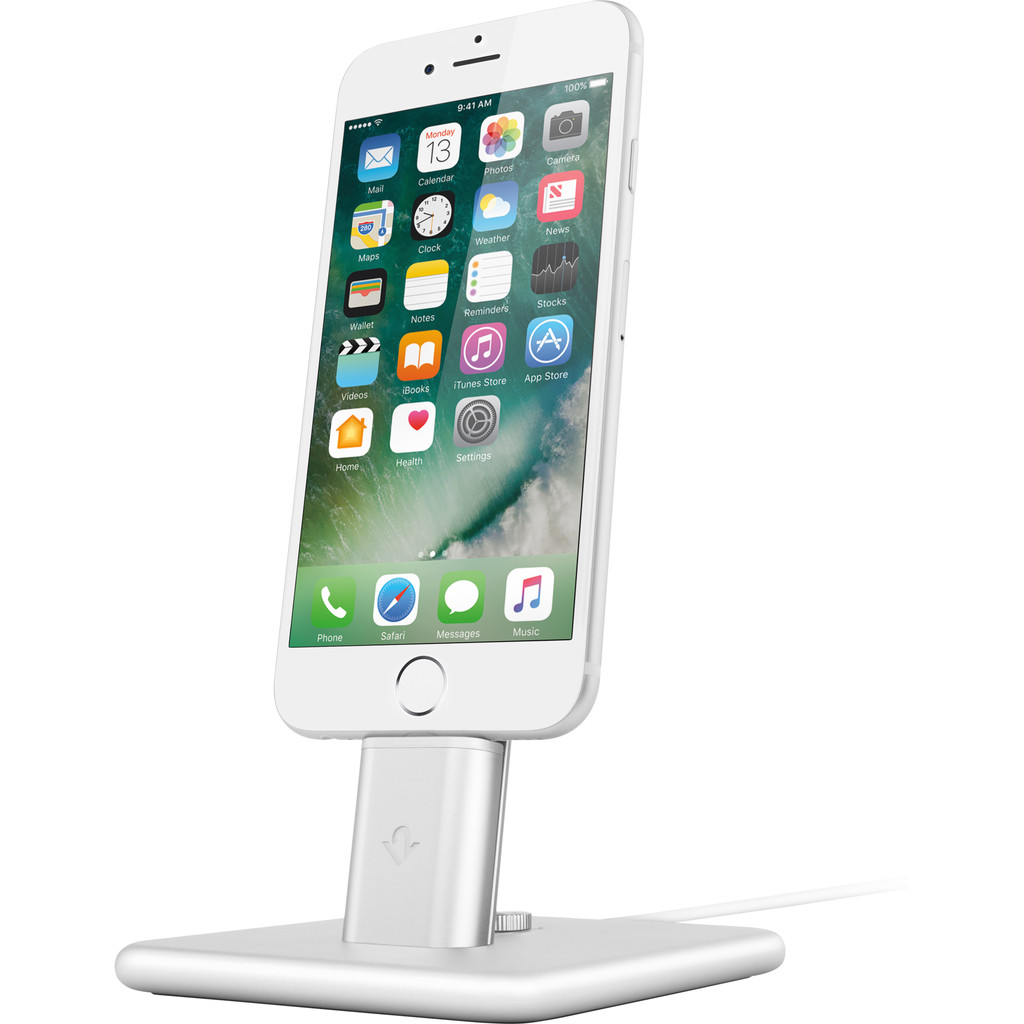 Twelve South HiRise 2 Apple iPhone/iPad Stand Zilver in Flostoy