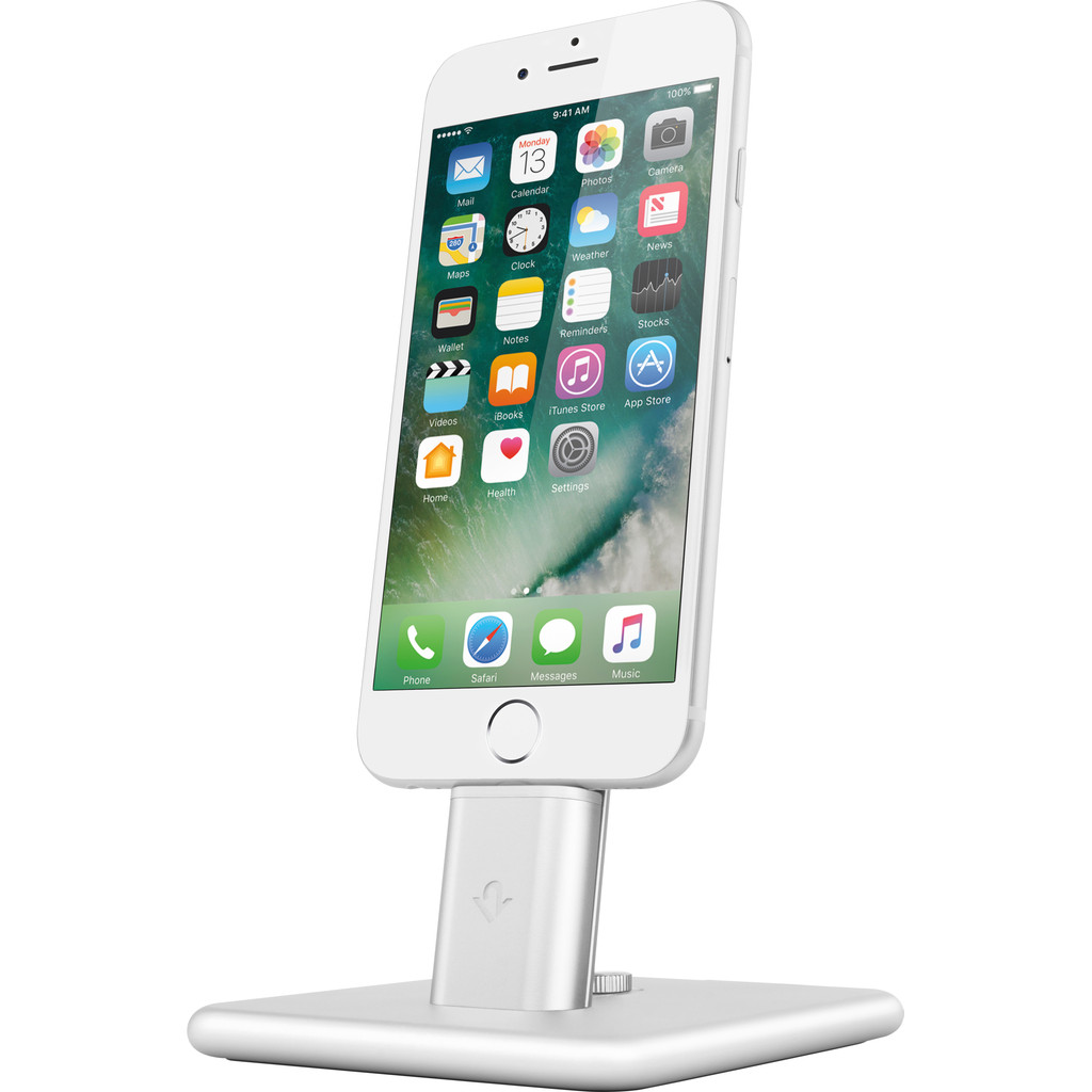 Twelve South HiRise Deluxe 2 Apple iPhone/iPad Stand Zilver in Eernegem