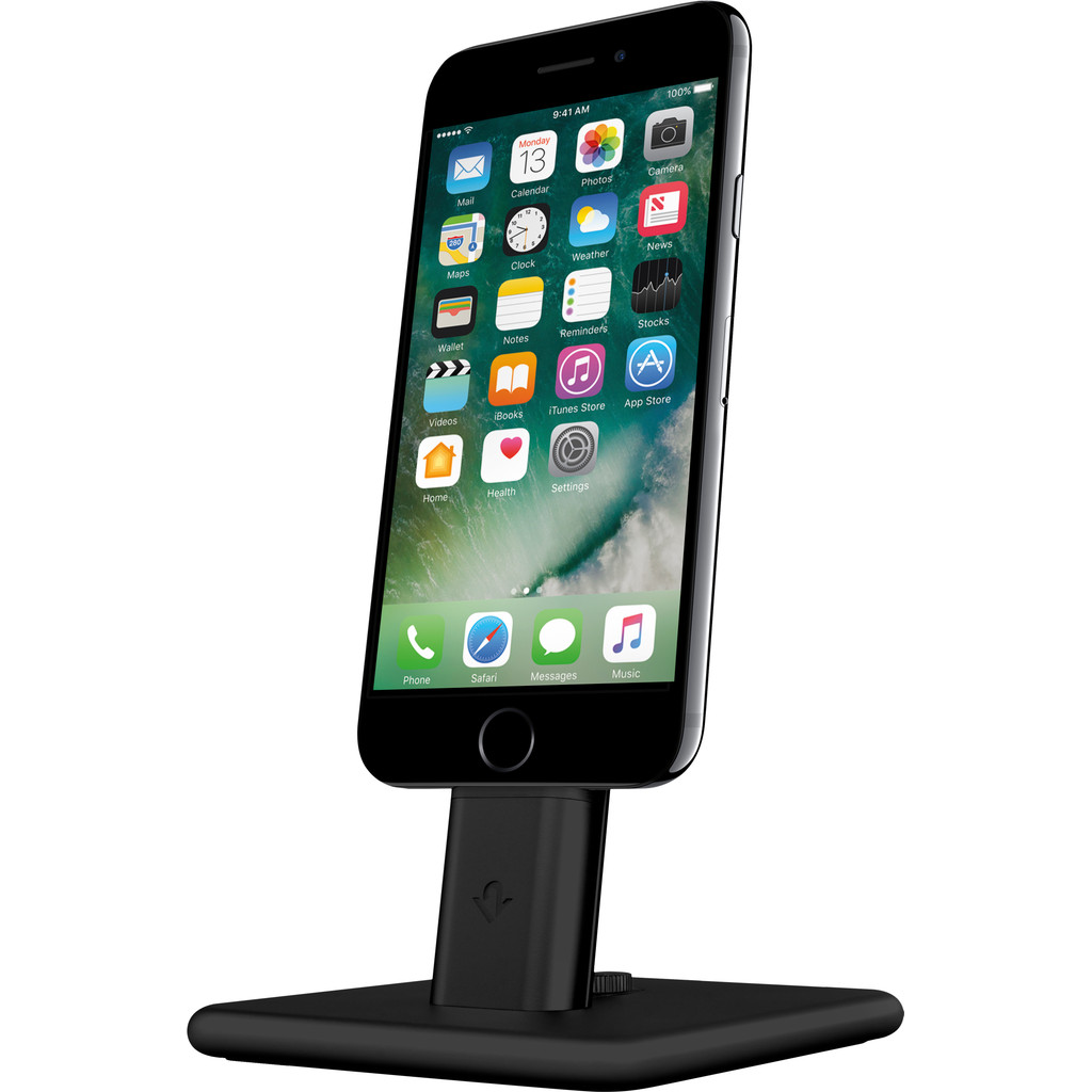 TwelveSouth HiRise Deluxe 2 Apple iPhone/iPad Stand Zwart in Dikbroeken
