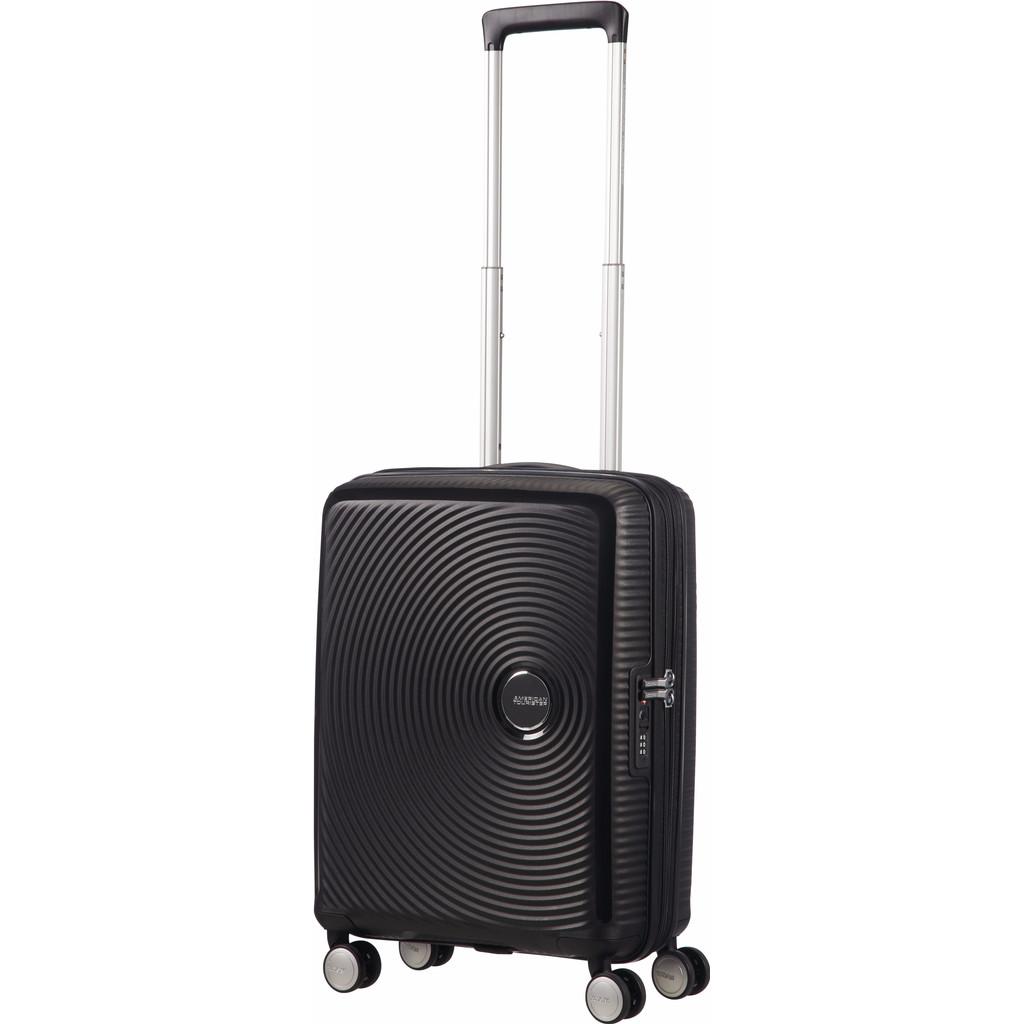 American Tourister Soundbox Spinner 55 Exp. Bass Black