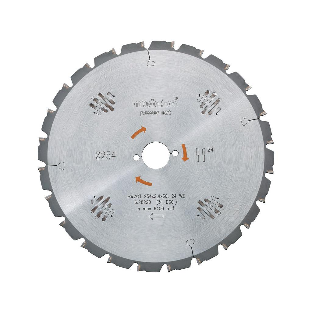 Metabo Zaagblad Power Cut 160x20x2.2mm 10T kopen