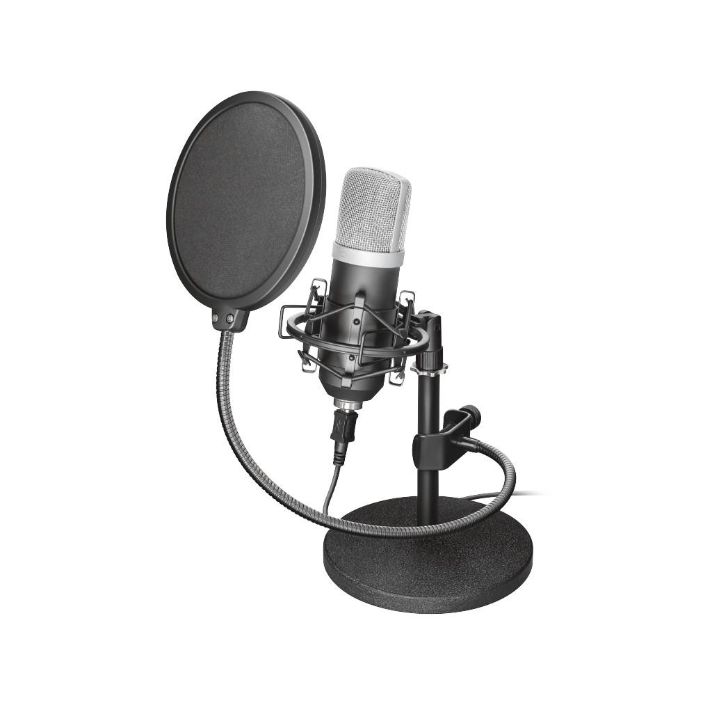 Trust Emita Studio USB Microfoon in Bulskamp