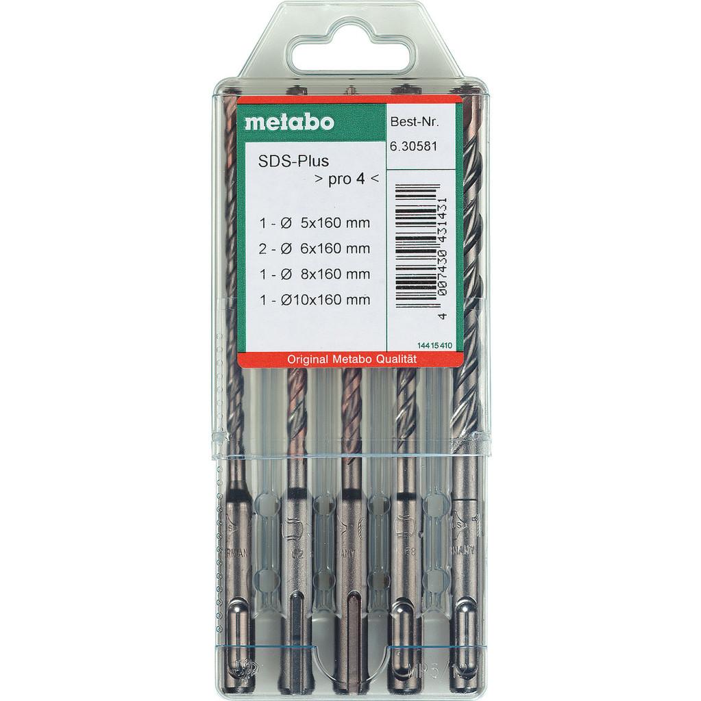 Metabo 5-delig SDS-plus Borenset in Assenois